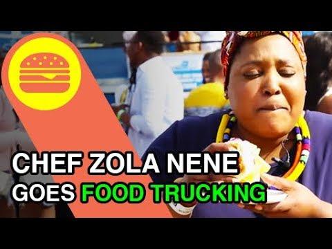 Chef Zola Nene goes exploring some Food Trucks in South Africa - DStv
