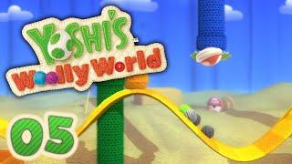 Wollige Wellen Wüste! | #05 | Yoshi's Woolly World