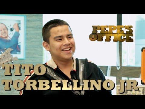 TITO TORBELLINO JR PRESENTA NUEVO MATERIAL - Pepe's Office