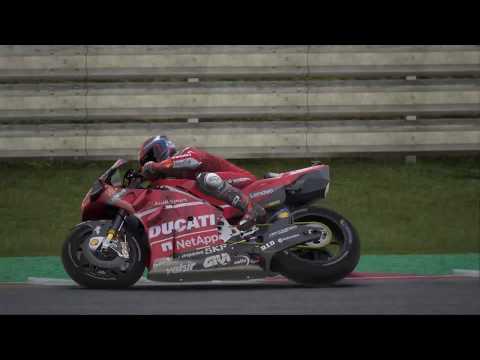 MotoGP 19 Career | Ducati Team @ Misano (120% Extreme + Pro mode) Movie |