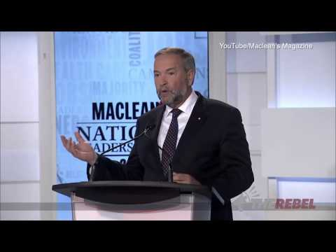 Who won the Maclean's Leaders Debate?