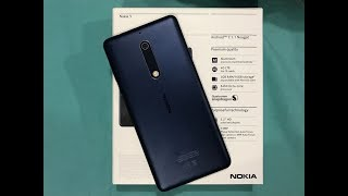 Nokia 5 Unboxing [HD 60fps]