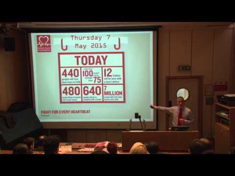 GLP Lecture - Simon Gillespie, CEO British Heart Foundation