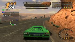 Need for Speed: Hot Pursuit 2, 8 Laps Desert Heat - Lamborghini Diablo