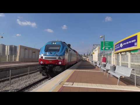 Israel by train - Kfar Saba to Tel Aviv - January 2017