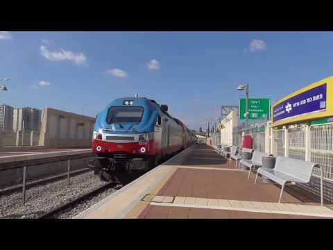 Israel by train - Kfar Saba to Tel Aviv - January 2017