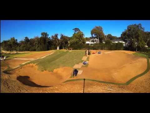 Kooyonga Golf Club - Sodding of the 4th Green
