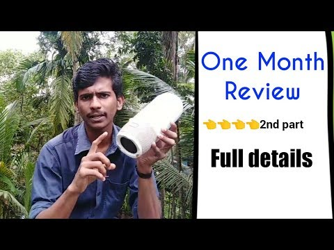 Jbl Pulse 3 One Month Review Water test Battery Light Hindi മലയാളമാണ് English