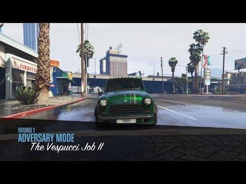 GTA 5 Online | New The Vespucci Job Adversary Mode
