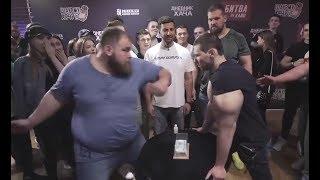 Пельмень послал Кирилла Терешина в Нокаут. Пощечины от Сарычева и Амирана - спорт или позорное шоу?