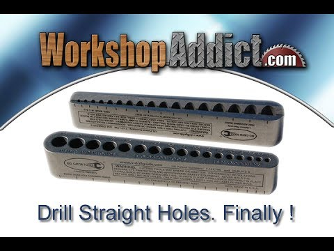 How to drill straight holes with hand drill through metal or wood and even pipe !