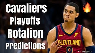 Predicting the Cleveland Cavaliers Playoffs Rotation | Big Minutes for LeBron James, Jordan Clarkson