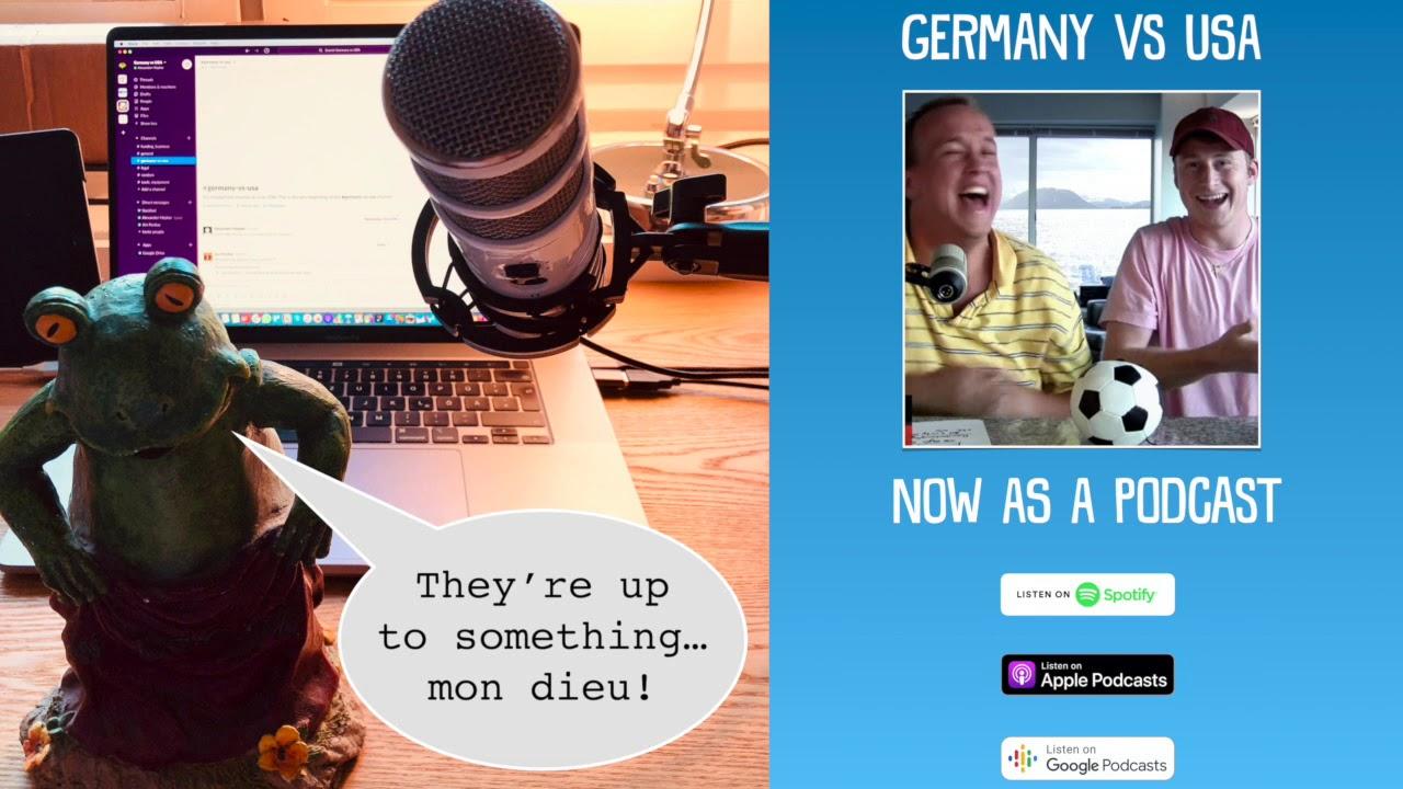 Germany vs USA - Let's go audio