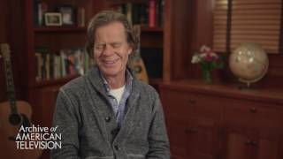 William H. Macy on advice to an aspiring actor
