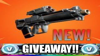 🔴 *NEW* FORTNITE PROXIMITY GRENADE LAUNCHER! 10K VBUCKS GIVEAWAY TO NEW SUBSCRIBERS!