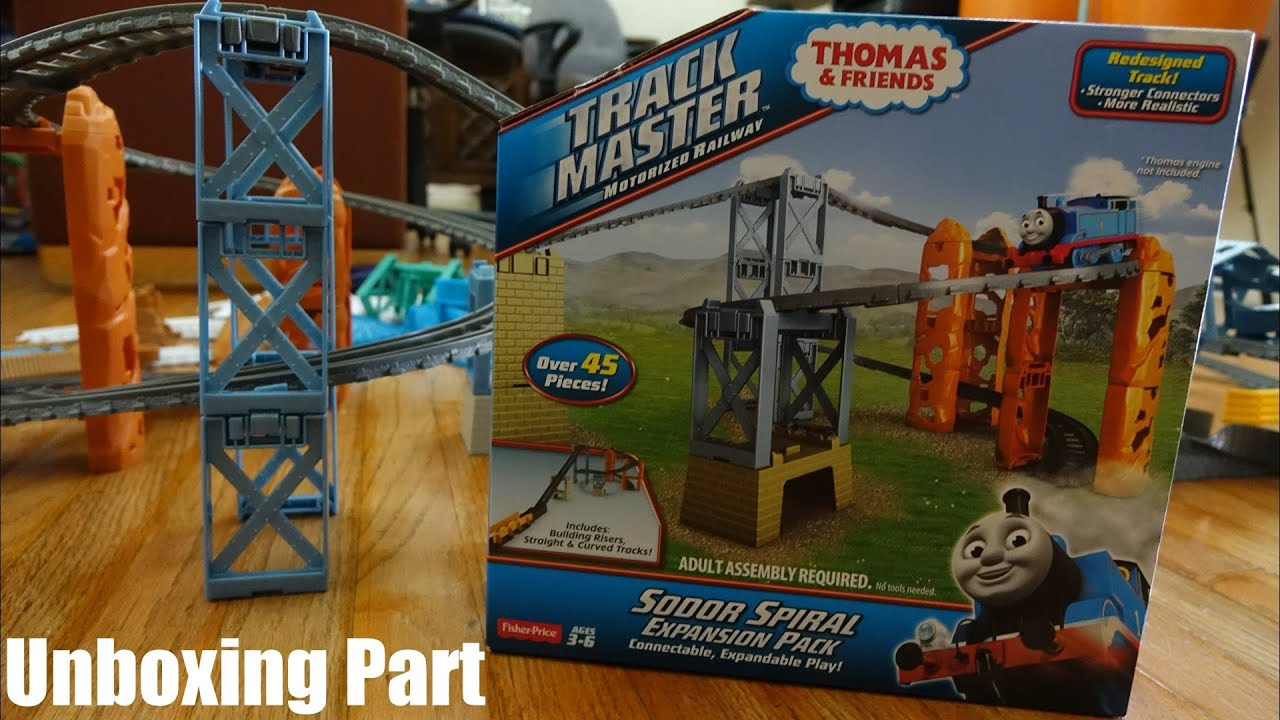 Thomas & Friends Trackmaster: Sodor Spiral Expansion Pack Unboxing 1 ...