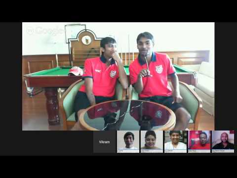#KXIPHangout with Sandeep Sharma & Akshar Patel