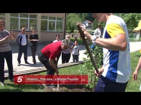 """Učesnici """"Trke mira """" u Novom Travniku"""