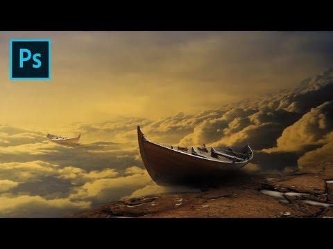 Fantasy Airship - Photoshop Manipulation Tutorial Processing