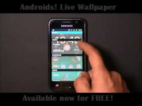 Androids! Live Wallpaper