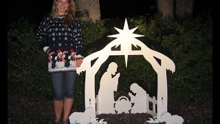 Review: Teak Isle Christmas Outdoor Nativity Set, Yard Nativity Scene
