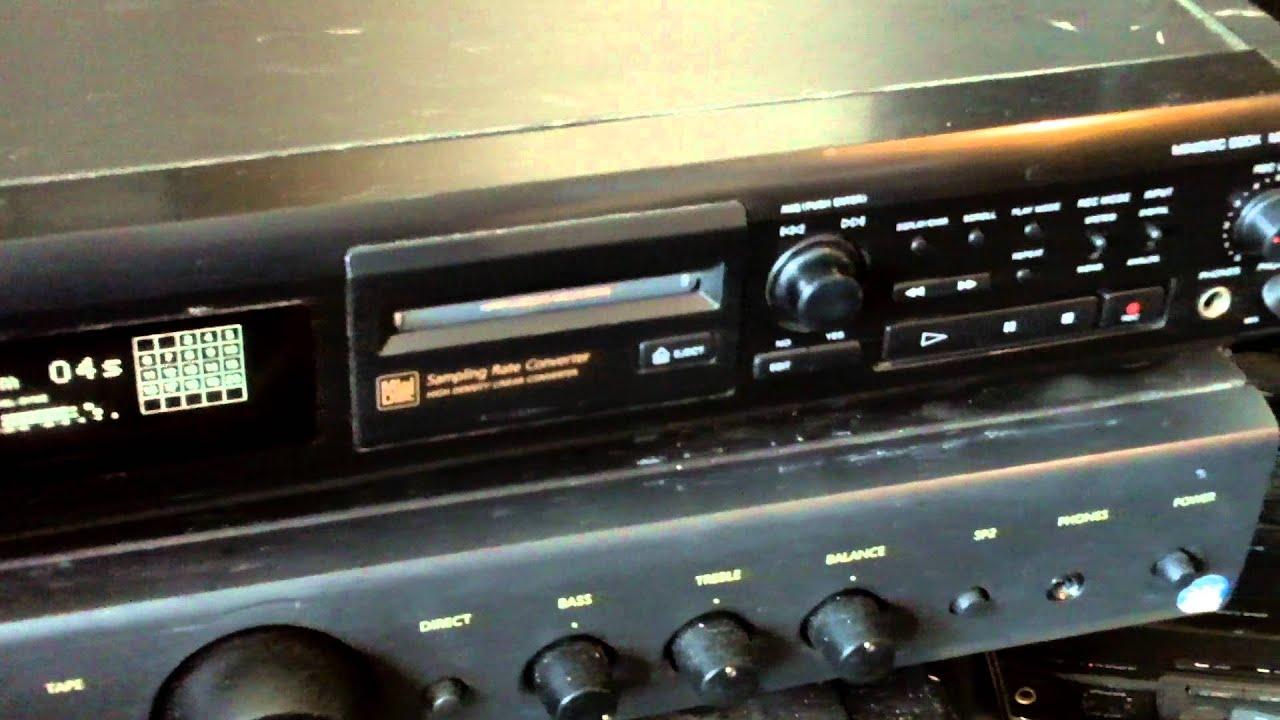 Minidisc sony mds-je500 manual transmission