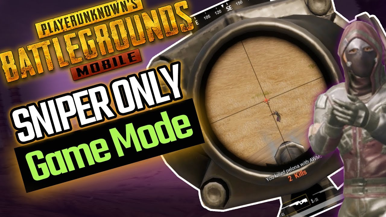 AWM + M24 Only PUBG Mobile Sniper Only Round