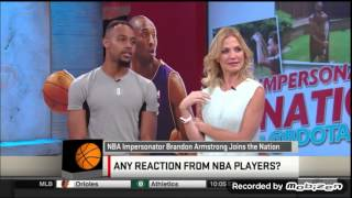 Bdotadot5 does Kobe Bryant impression on sports n