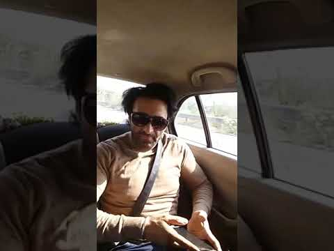 ACTOR MANNY KHAIRA GOING TO BATHINDA WITH KAMAL GROVER  FOR ACT IN DULLA VAILY PUNJABI FILM