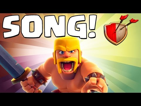 Clash of Clans BARBARIAN SONG! Clash of Clans Track 1/10 New Album!