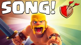 "Clash of Clans ""BARBARIAN SONG!"" Clash of Clans Track 1/10 New Album!"