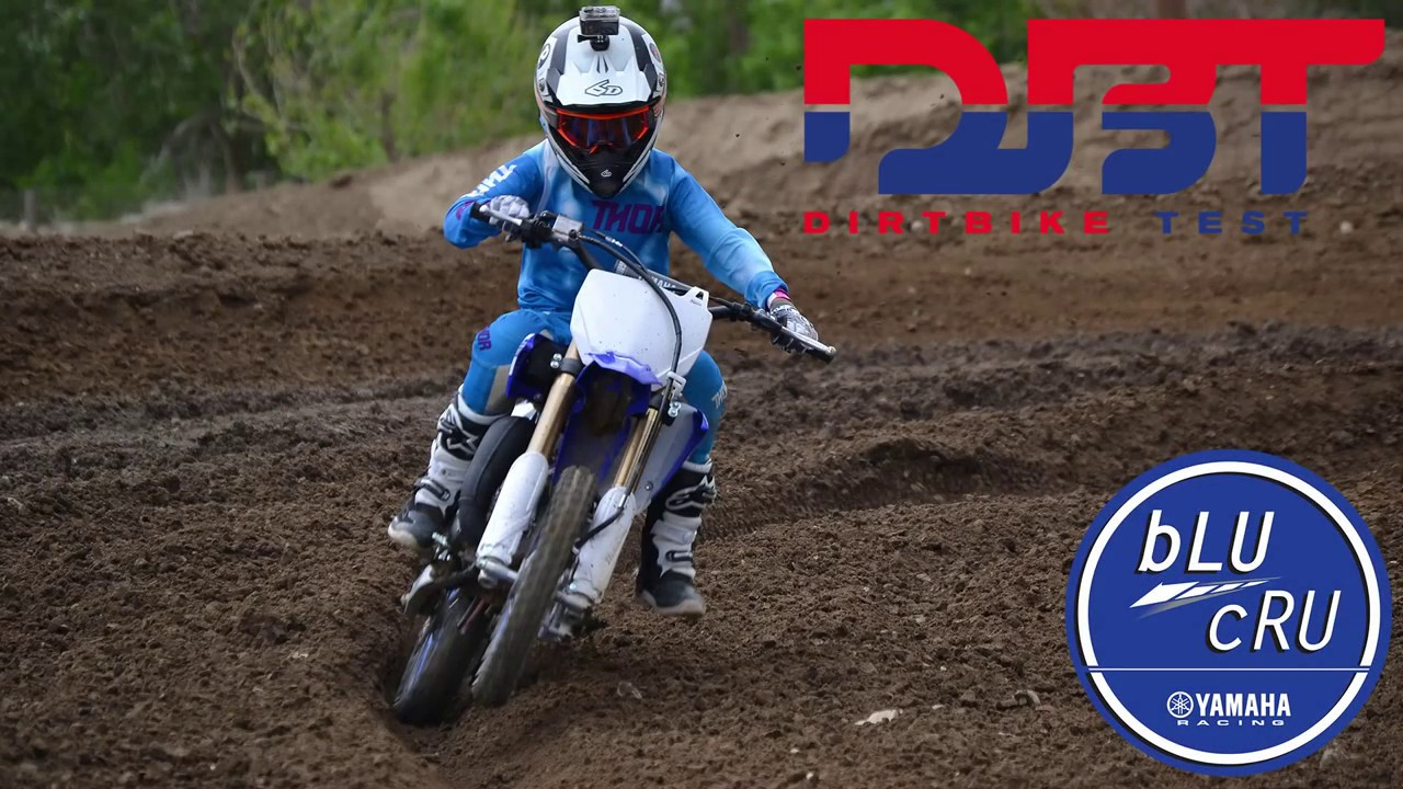 Dirt Bike Test's mini kids ride Yamaha's all new YZ65 for a first