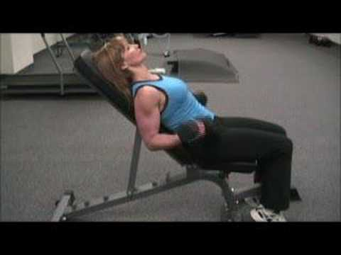 Bicep Exercises - The Incline Dumbbell Bicep Curl