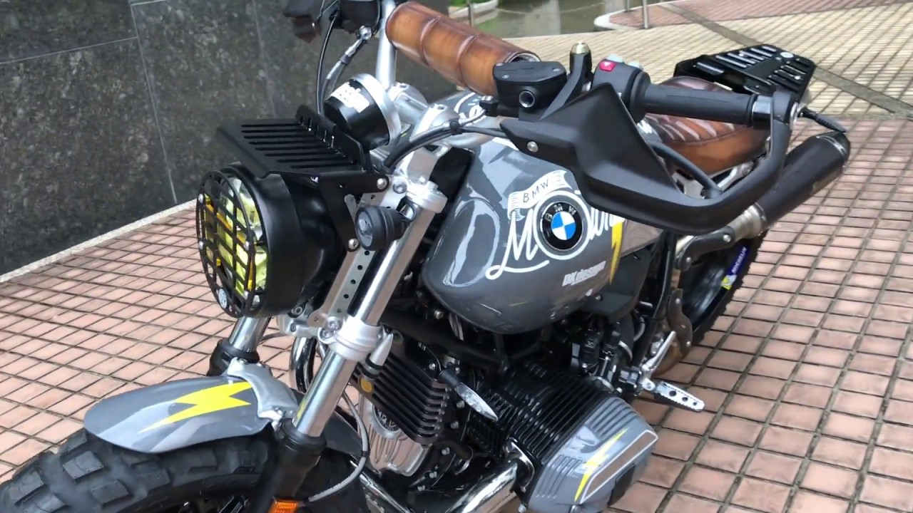 bmw r ninet pure custom palypure by dkdesign 1 youtube. Black Bedroom Furniture Sets. Home Design Ideas