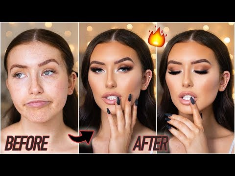0-100 ULTIMATE NIGHT OUT GLAM GRWM (how to be a catfish again hehe) | Hannah Renée