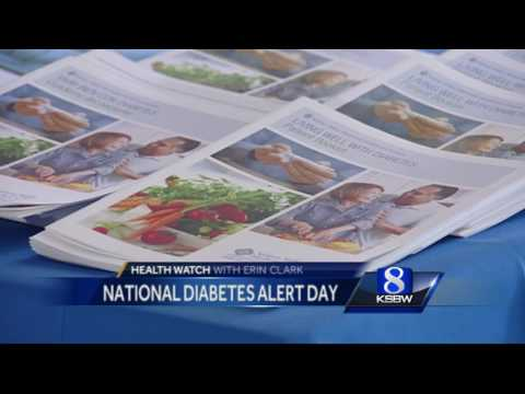 Tuesday is National Diabetes Alert Day