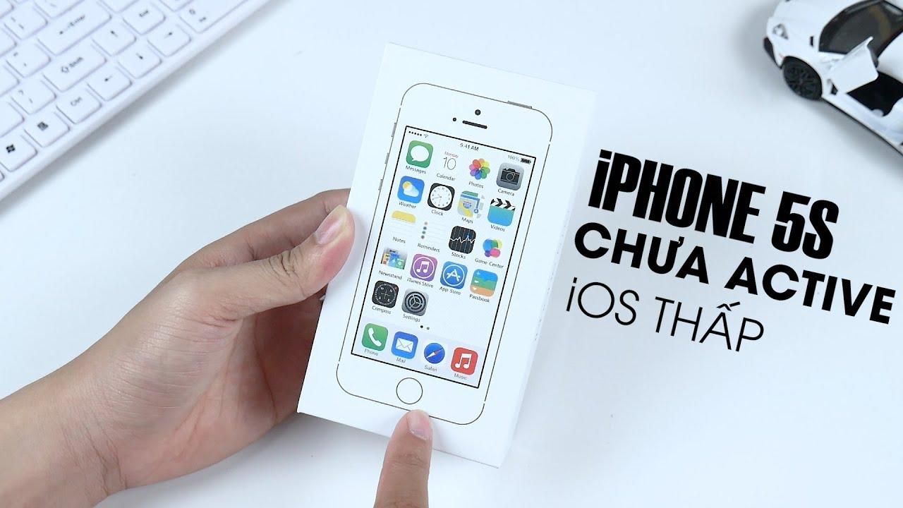 2019 vẫn còn iPhone 5S chưa Active rẻ kinh khủng !!! - Nghenhinvietnam.vn