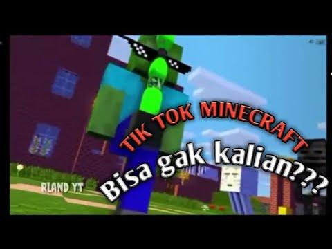 Kumpulan Tik Tok Minecraft Keren Dan Kreatif || ANTONI GAMING