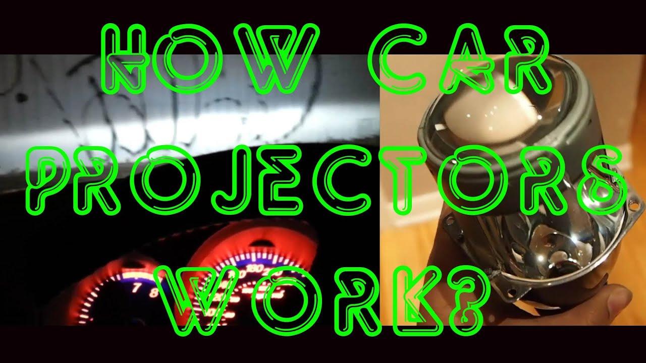 how car projectors work youtube. Black Bedroom Furniture Sets. Home Design Ideas