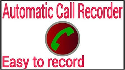 Automatic Call Recorder with a high quality software