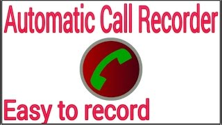 Automatic Call Recorder with a high quality software screenshot 5