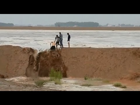 You Won't Believe This Desert Miracle!! Amazing Footage In Saudi | August 08, 2018