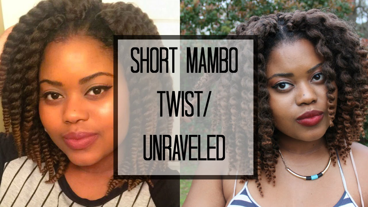 Crochet Braids Short Mambo Twist/Unraveled