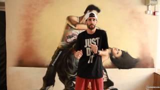 Хип-хоп танцы – школа   Урок 12   Harlem Shake, Skate и Jack-in-the-Box
