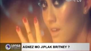 "Agnez Mo copycat style Britney Spears lagiii ""BOY MAGNET"""