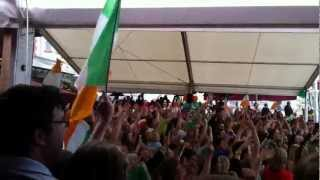 Katie Taylor Wins Gold at London 2012 - The Martello, Bray Celebrates