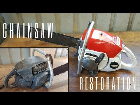 Seized 1960s Chainsaw Restoration