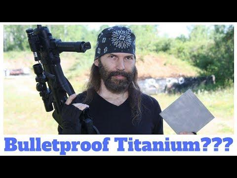 Make DIY Bulletproof Titanium Body Armor