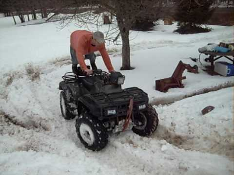 how to avoid getting stuck in snow