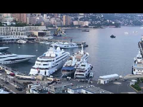 Menton, Monaco, Nice, French Riviera, France, Yachts.